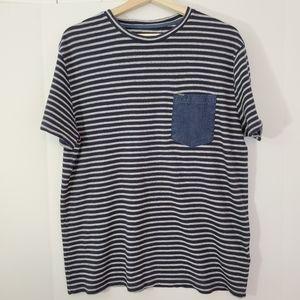 Calvin Klein Jean's striped short sleeve shirt